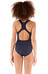 speedo Essential Endurance+ Medalist Swimsuit Girls navy